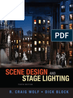 R. Craig Wolf, Dick Block Scene Design and Stage Lighting
