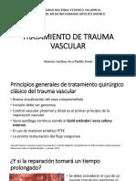 Tratamiento de Trauma Vascular