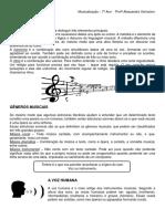 Elementos Da Música 7º Ano