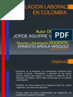 Resumen Legislacion Laboral en Colombia Sep 2017