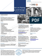 Piping Engineering Master Flyer