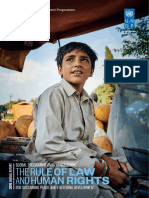 UNDP 2016 Annual Report Rule of Law Human Rights