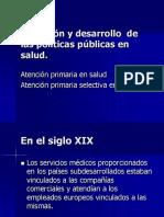 3.2 Historia de La Salud Publica ,De APS a APS Selectiva