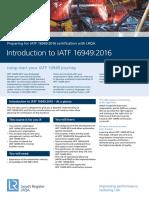 Lrqa Iatf 16949 2016 Intro to Iatf Uk Lr