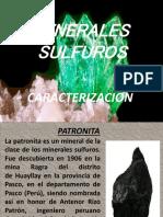 DIAPOS CARACTERIZACION MINERALOGICA