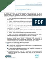 PPL CS Recomendaciones Para Participar en Foros