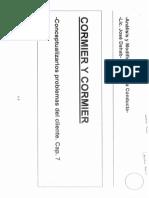 Cormier y Cormier - Conceptualizar Los Problemas Del Cliente. Cap 7
