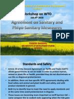 Agreement on Sanitary and Phtyo-Sanitary Meseaures