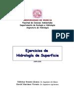 Ejercicios Hidrologia de Superficie