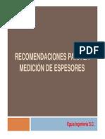 Medicion-espesores+ultrasonido