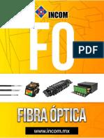 Catalogo Incom Fibra Optica
