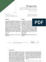 Alexander Avila Martinez    -Wittgenstein una perspectiva para el analisis filosofico-.pdf