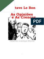 As Opinioes e as Crenças_Gustave Le Bon
