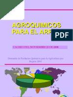 Agroquimicos en Arroz
