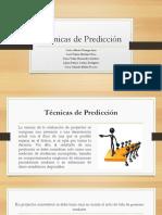 Técnicas de Predicción - Presentación