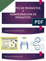 Concepto de Productos