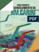 PENSAR O DESENVOLVIMENTO DA RM CARIRI