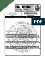 Nueva Ley de Issstecali2015