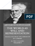 Schopenhauer_World as Will and Representation [2of2]