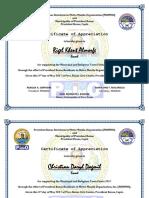 PRIMMO Certificate (Escort)