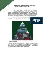 Fortalecimento de La Gestión Ambiental de La Municipalidad Distrital de Aucara