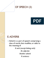 Parts of Speech 3