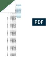 Ejemplo Cálculo Tiempo Arribos y Tiempo Servicio.xlsx