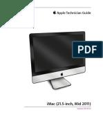 iMac 21.5 Mid 2011 Service Manual