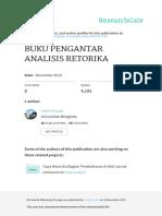 Buku Pengantar Analisis Retorika