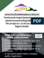 ¿Por Qué Es Importante La Capacitación Empresarial?  | Capacitación Empresarial en Bogotá | Cursos