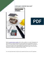 Costos de Costruccion de Una Casa