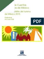 Cuenta Satelite Del Turismo 2015