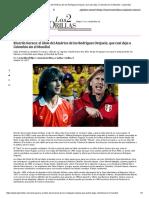 Ricardo Gareca_ El Ídolo Del América de Los Rodríguez Orejuela, Que Casi Deja a Colombia Sin El Mundial - Las2orillas