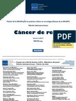 NCCN - CA de Recto - Guias de Practica Clinica - ESPAÑOL