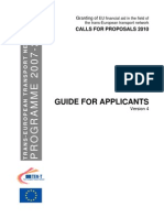 Guide for Applicants 2010