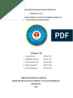 p2&3 Penetapan Waktu Pengambilan Cuplikan Biofar Kel 1