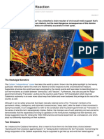The Catalan Chain Reaction