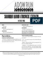 Shadowrun Supplemental - - Ranmdom Atmosphere Generator