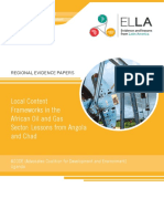 Acode Local Content Frameworks in the African Oil and Gas