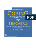 Coping Strategies for Teachers