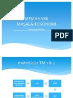 1. Ppt. Ekonomi Mikro 2014 - Pendahuluan