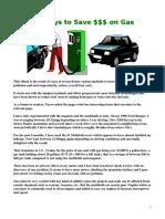 Gas Saver PDF