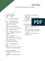 English Test UNIT I.docx