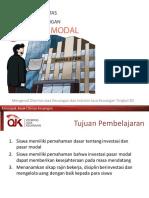 TOT SD Pasar Modal
