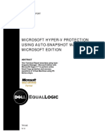 Microsoft Hyper-V Protection Using Auto-Snapshot Manager_Microsoft Edition