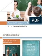 teacher personality development