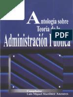 Antología Sobre La Teoría de La Administración Pública