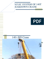 Overview of 140T Crane