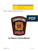 Strathcona County 2013 Ice Rescue Training Manual