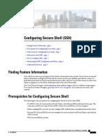Configure SSH Cell